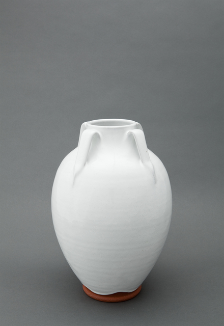, 'Lily jar, dogwood white glaze,' , Pucker Gallery