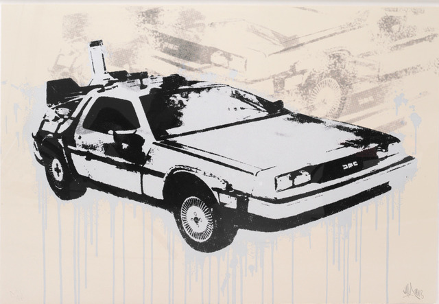 , 'DeLorean (Poster),' 2013, Robert Fontaine Gallery