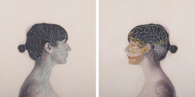 Juana Gomez, 'Constructual 4 (diptic) ', 2015, Isabel Croxatto Galería