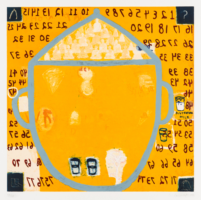 Squeak Carnwath, 'Second Inside Thoughts', 1995, Rachael Cozad Fine Art