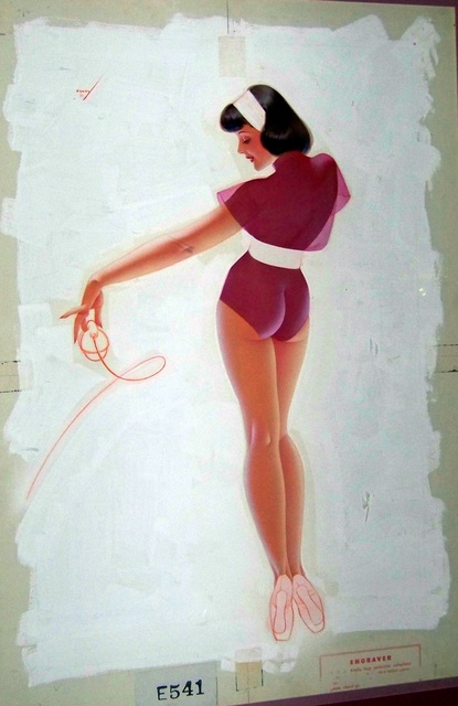 George Petty, 'True Magazine Illustration', 1948, Louis K. Meisel Gallery
