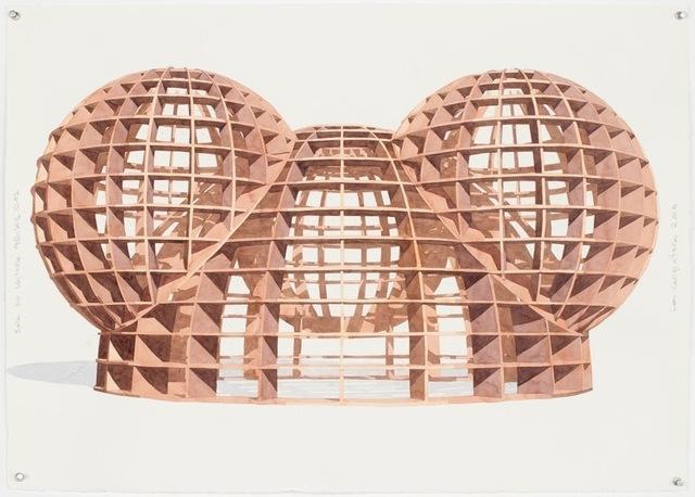 , 'Sala de lectura 4 bolas dos,' 2016, Galerie Peter Kilchmann