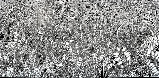 M.S. BASTIAN & ISABELLE L., 'Paradis Fabuleux En Blanc Et Noir', GALERIE URS REICHLIN