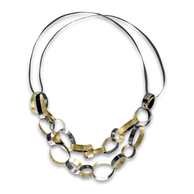 , 'Linked Rings Handmade Necklace,' 2015, Szor Collections