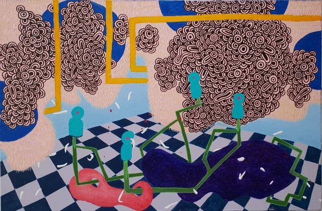 , 'Suspended Instincts 8,' 2018, Di Legno Gallery