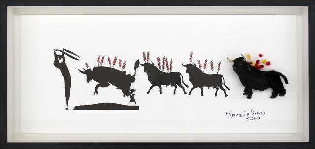 , 'Toros 1,' 2012, Polígrafa Obra Gráfica