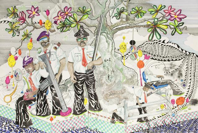 , 'Guardguard,' 2016, Richard Koh Fine Art