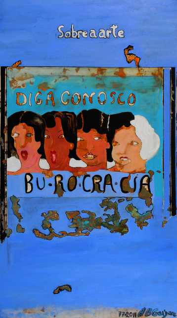 , 'Burocracia Azul /Blue Bureaucracy,' 1997-2011, Artur Fidalgo Galeria