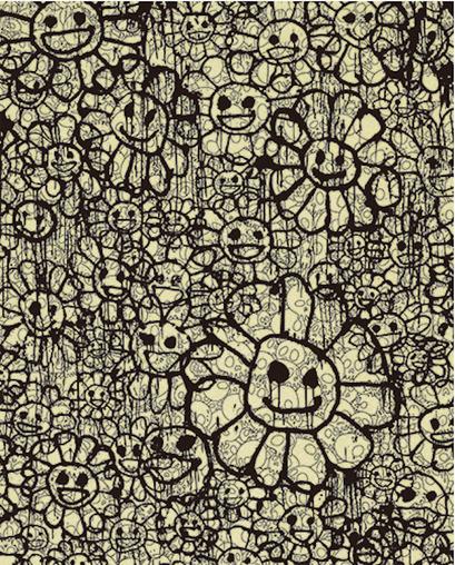 , 'FLOWERS B BEIGE BY MADSKI X TAKASHI MURAKAMI ,' , Marcel Katz Art
