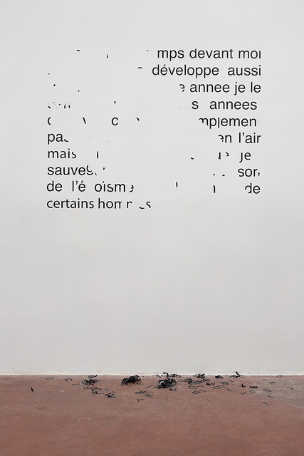 , 'Vendredi 11 août 1989 – J'ai encore du temps devant moi,' 2014, Dvir Gallery