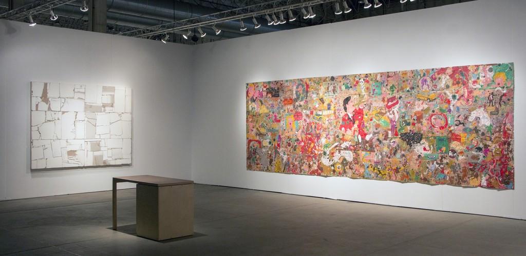 EXPO Chicago, Installation View, Steve Turner, September 2015