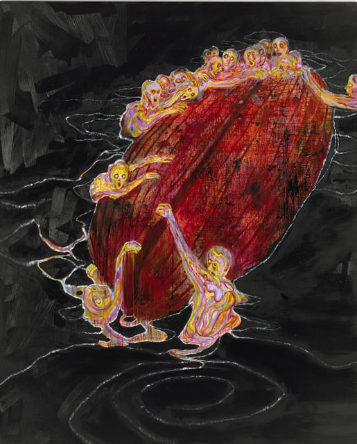 Daniel Richter, 'Flash', 2009, GRIMM
