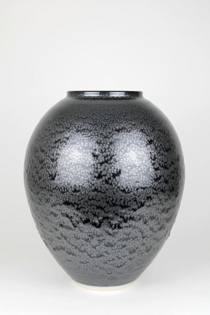 Albert Montserrat, 'Silver Feathers Vessel', 2019, Cynthia Corbett Gallery