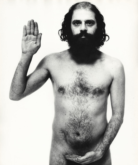 , 'Allen Ginsberg, poet, New York City,' December 30-1963, Pace/MacGill Gallery