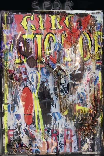 , 'Homage to Mimmo Rotella 1 (Circus),' , SimonBart Gallery