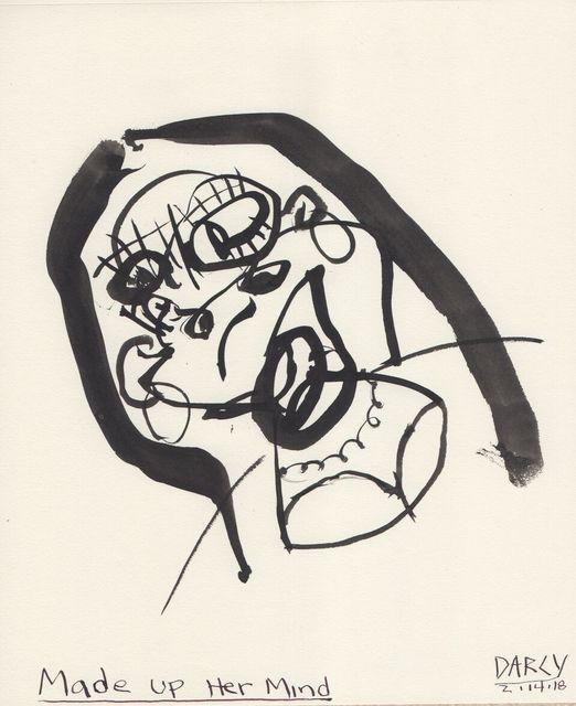 Brad Darcy, 'Made Up Her Mind', 2018, NUNU FINE ART