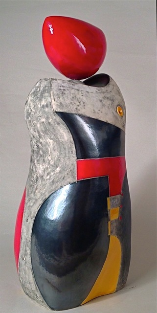Mary-Ann Prack, 'Red', 2016, Gallery at Zhou B Art Center
