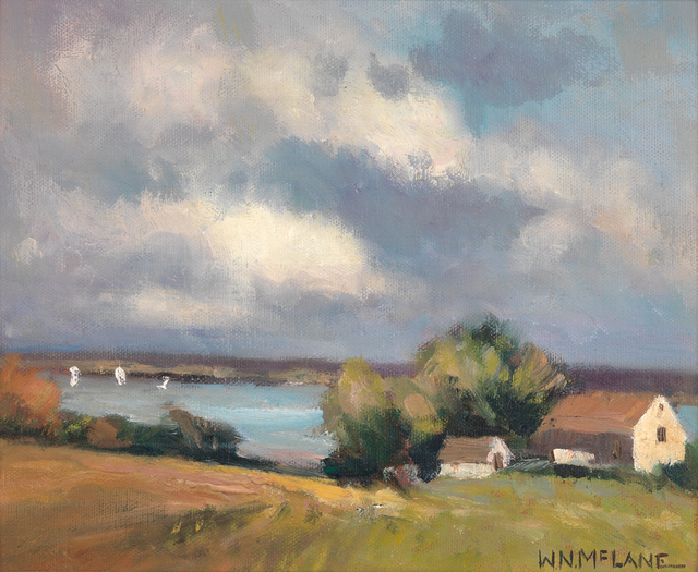 Bill McLane, 'Barn by the Sea', Active Contemporary, The Edgartown Art Gallery, Inc.