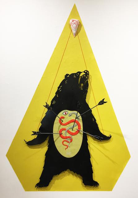 , 'Abduction 2,' 2017, LeMieux Galleries