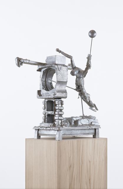 """, '""""HÜRDE (FRÄULEIN """"SCHNIERZN"""" de HALTI)"""",' 2015, Galerie Krinzinger"""