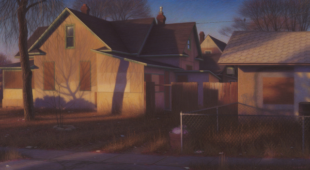 Brian Cobble, 'Tree Shadows, Albuquerque', 2016, Valley House Gallery & Sculpture Garden