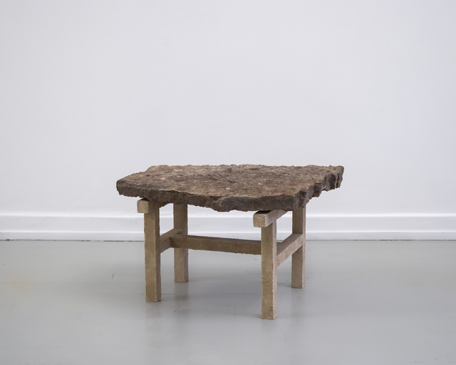 , 'Stoned Table,' 2015, Etage Projects