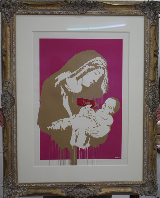 , 'Toxic Mary Colourway gold & pink signed,' 2004, Galerie Kronsbein