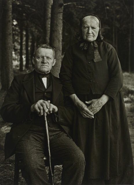 , 'I/ST/10 Farming Couple –  Propriety and Harmony,' 1912, Galerie Julian Sander