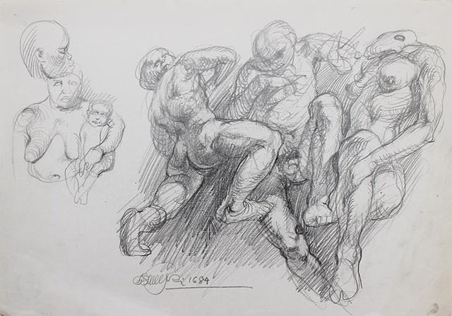 , 'Nudes,' 1984, Gallery Katarzyna Napiorkowska | Warsaw & Brussels