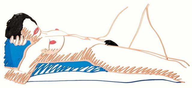 , 'Monica Lying on her Back,' 1988, Hamilton-Selway Fine Art