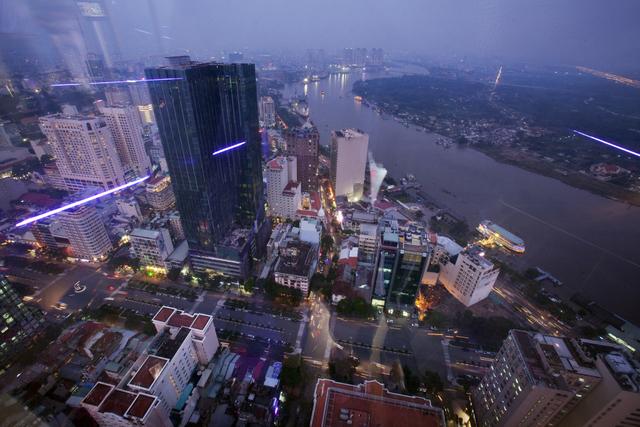 , 'Ho Chi Minh City from Bitexco,' 2011, Art Vietnam Gallery