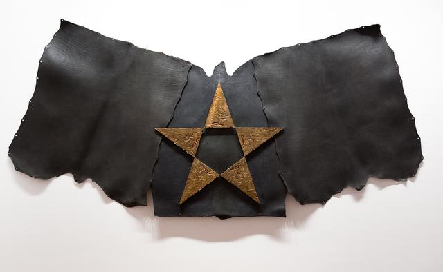 , 'Stella di bronzo,' 2004, Galleria Fumagalli