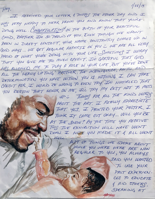 , 'A Letter from Yaya to Russell Craig,' , Philadelphia's Magic Gardens