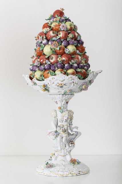 , 'Fruit Pyramid II [Courtesy MEISSEN COUTURE® Art Collection],' 2014, Cynthia Corbett Gallery