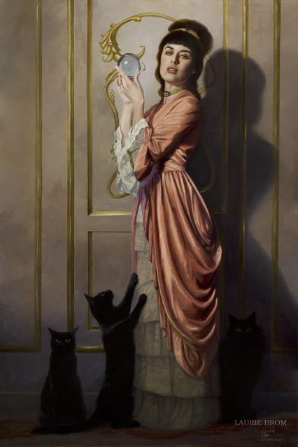 Laurie Lee Brom, 'The Crystal Gazer', 2017, Hashimoto Contemporary