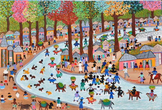 , 'Enterrement,' , Le Centre d'Art d'Haïti