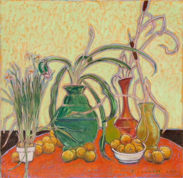 , 'The Orange Table,' , Bau-Xi Gallery