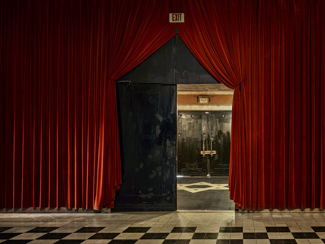 , 'Black Door, The Temple Downtown, Mobile, AL,' 2017, Jackson Fine Art