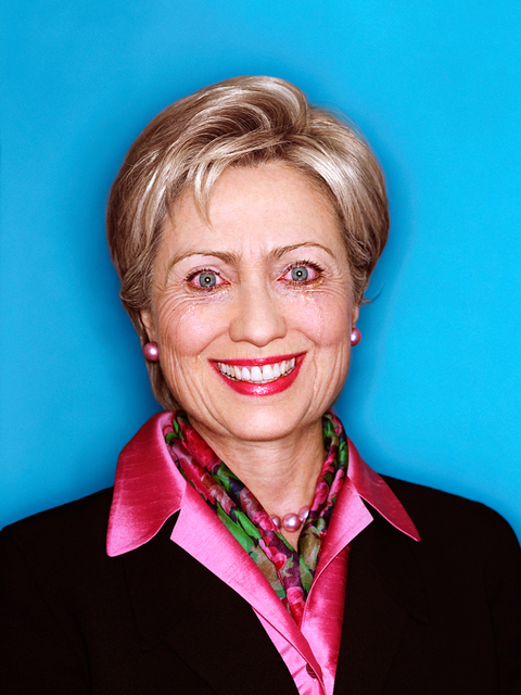 , 'Hilary Clinton: Politicians Paradox,' 2001, Staley-Wise Gallery