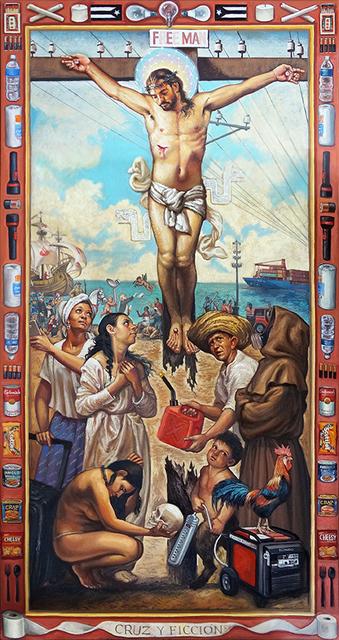 , 'CRUZ Y FICCION,' 2018, La Luz de Jesus Gallery