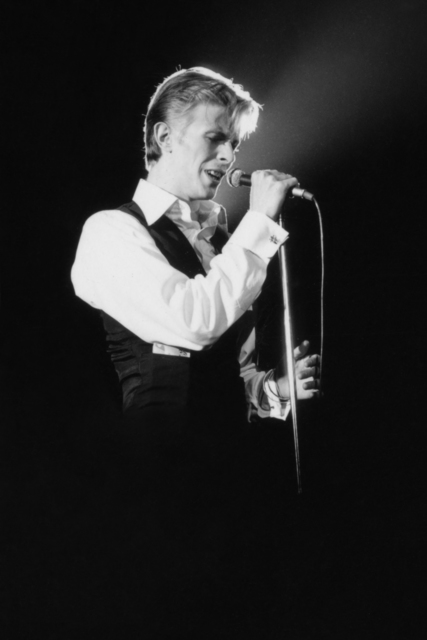 , 'David Bowie on Stage Spotlight,' ca. 1970, Mouche Gallery
