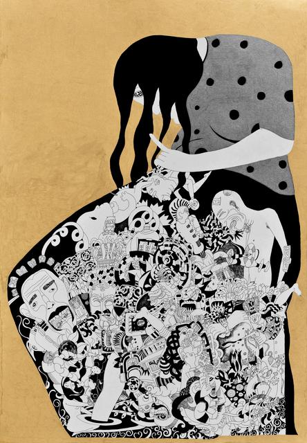 , 'Pregnant,' 2014, Merkur