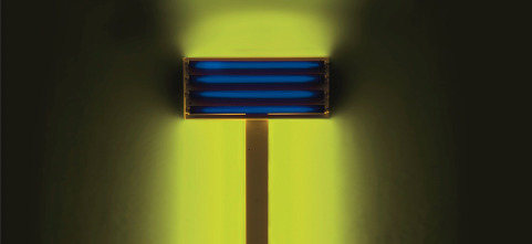 Detail: Dan Flavin: Untitled (for S.D.), 1992