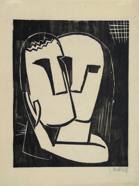 Karl Schmidt-Rottluff, 'Lovers', 1920, Galerie St. Etienne