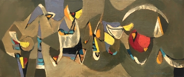 , 'Untitled (Abstraction),' 1951, Richard Norton Gallery