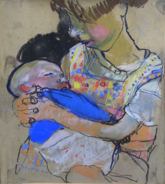 , 'Girl with Baby,' , Cyril Gerber Fine Art/ Compass Gallery