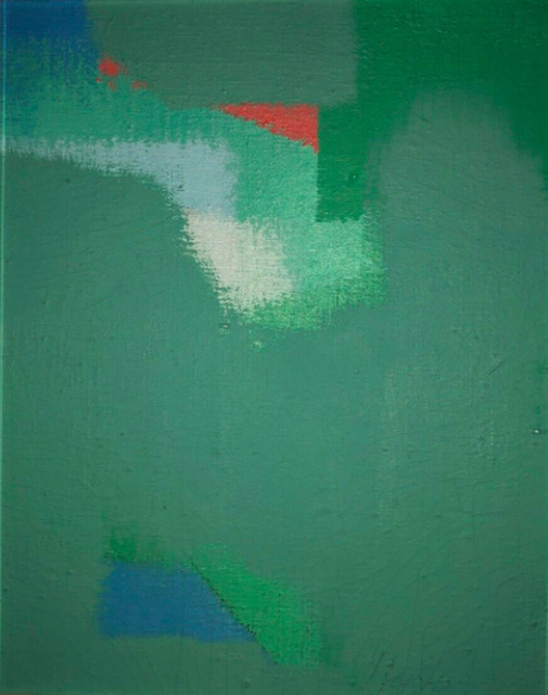 , 'Untitled Abstraction (Green),' ca. 1960, F.L. Braswell Fine Art