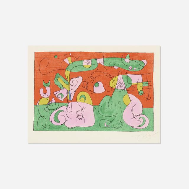 Joan Miró, 'Bougrelas et Sa Mere (from the Ubu Roi portfolio)', 1966, Rago/Wright