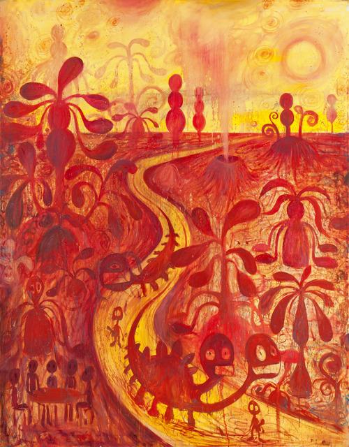, 'Tequila Sunrise,' 2016, Hans Alf Gallery