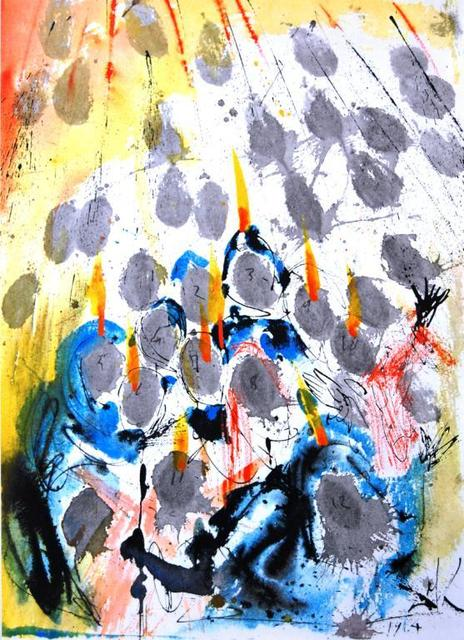 , 'There Appeared To Them Separated Tongues,' 1967, Baterbys Art Gallery